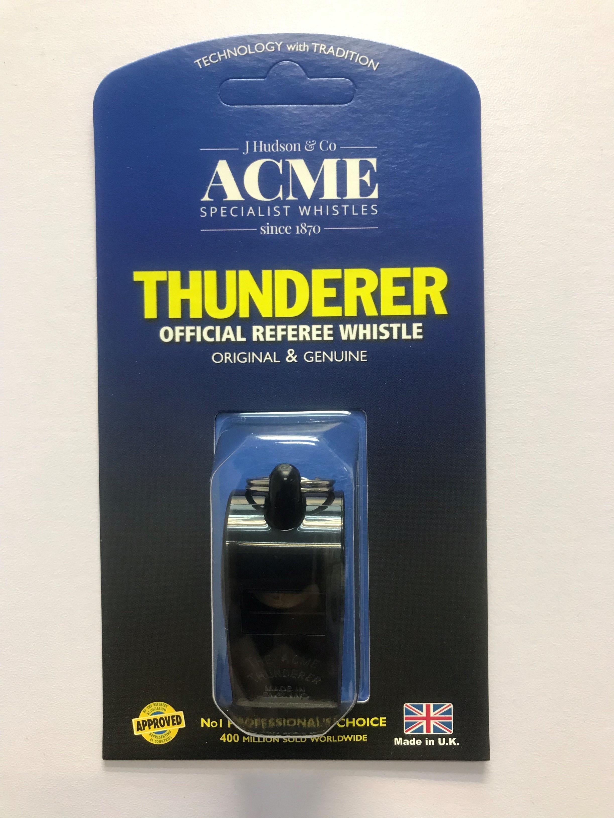 THUNDERER - OFFICIAL REFEREE WHISTLE thumbnail